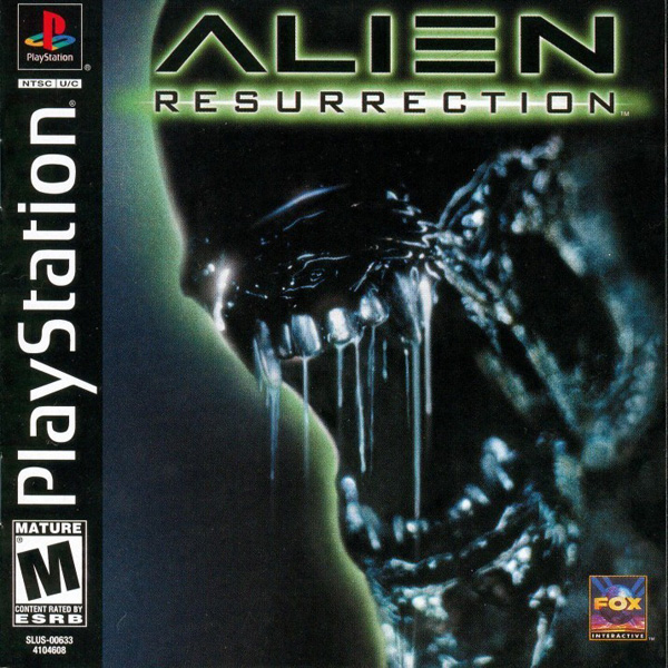 Alien Resurrection [U] Front Cover